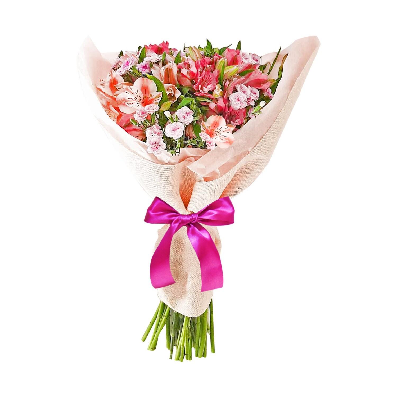 Bouquet de alstroemerias y rafini