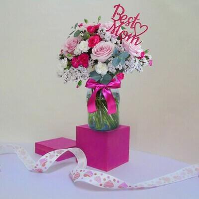 Cariño en rosa
