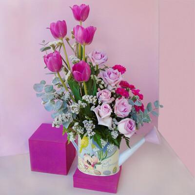 Armonía de tulipanes