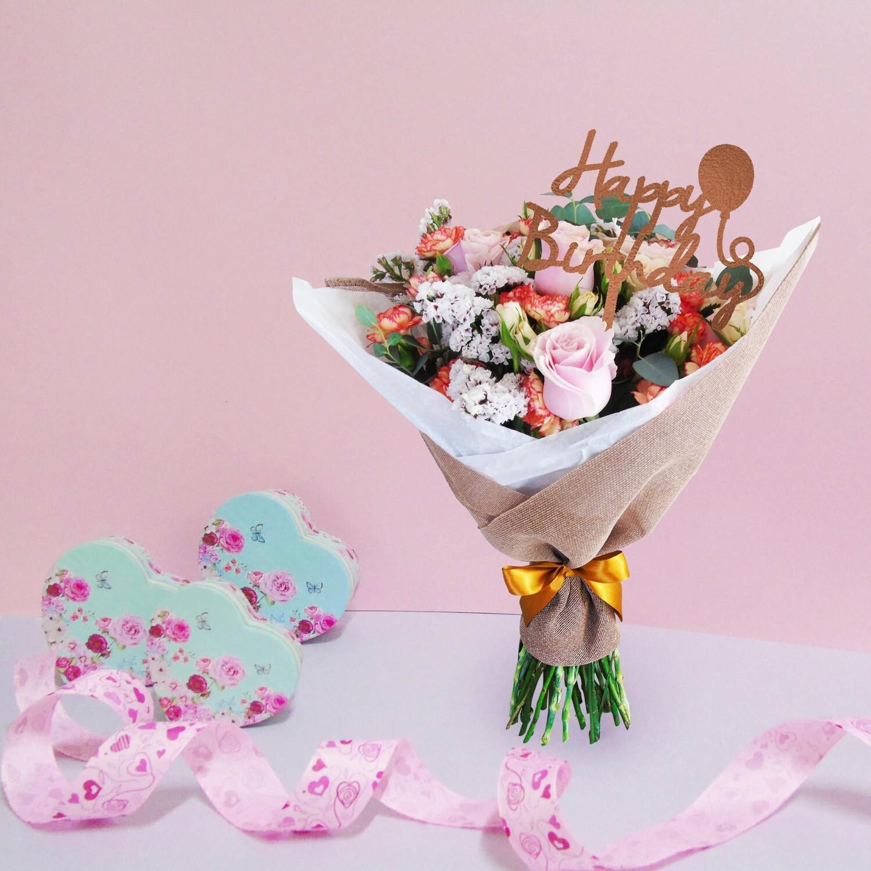 Bouquet ternura esponjosa