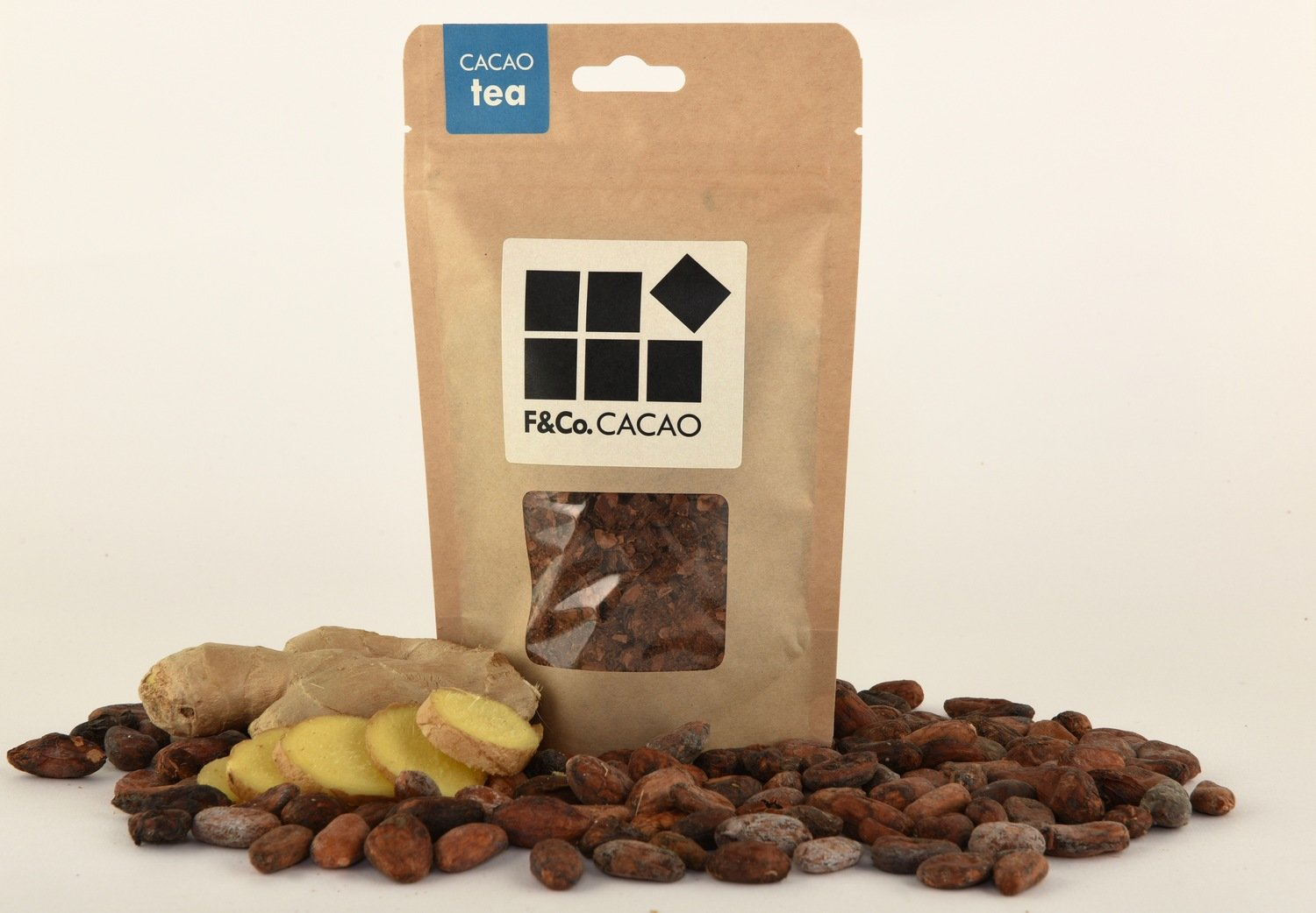 Cacao Tea - Ginger 100gr