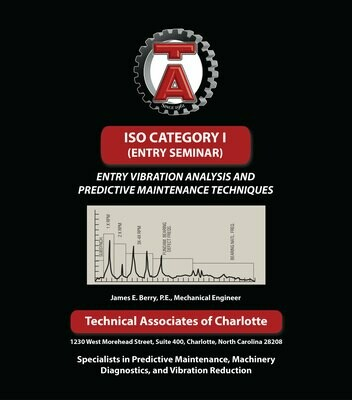 Textbook - ISO Category I (Entry Level Vibration Analysis)