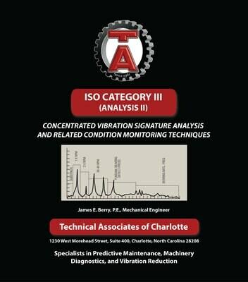 Textbook - ISO Category III (Vibration Analysis II)