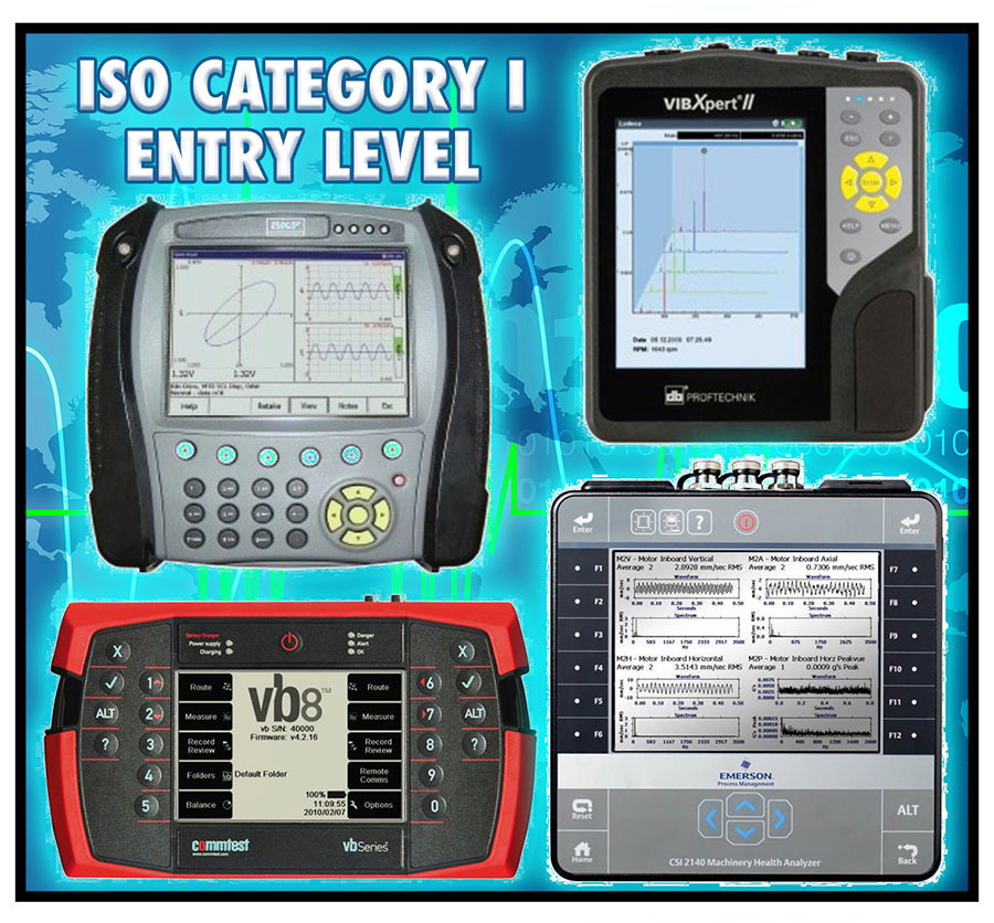 ISO Category I (Entry Level Vibration Analysis) - December 1-4, 2020 HOUSTON, TX