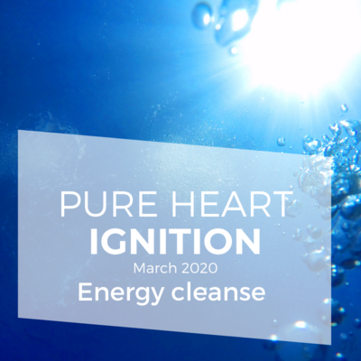 Pure Heart Ignition – Energy cleanse and water blessing