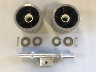 Gray ribbed roller set (lug)