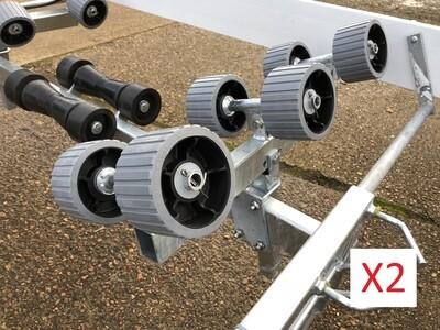 12 Grey roller set