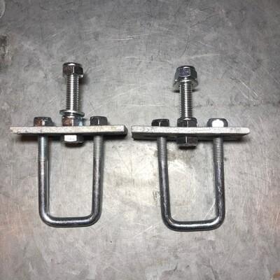 Spare wheel mounting bracket