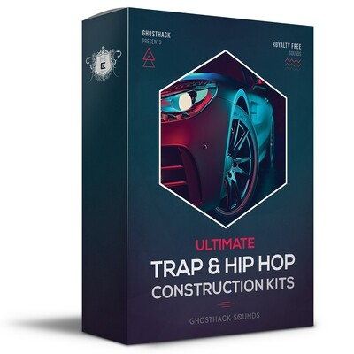 Ultimate Trap and Hip Hop Construction Kits - Royalty Free Samples