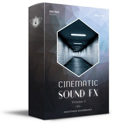 Cinematic Sound FX 2 - Royalty Free Samples