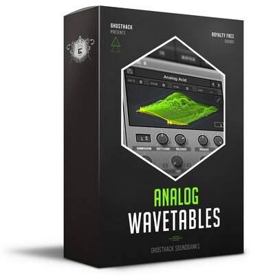 Analog Wavetables for Serum - Royalty Free Samples