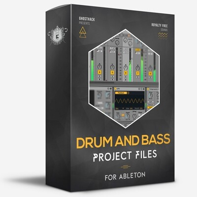 Drum and Bass Projects for Ableton - Royalty Free Samples