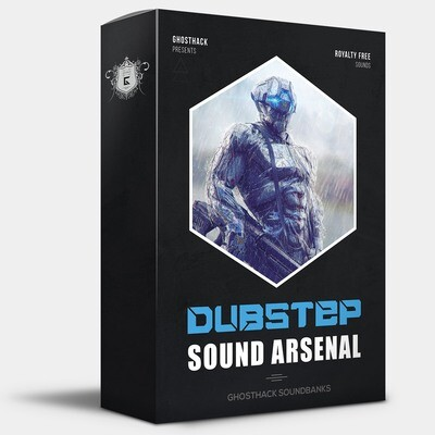 Dubstep Sound Arsenal - Royalty Free Samples