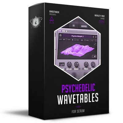 Psychedelic Wavetables for Serum - Royalty Free Samples