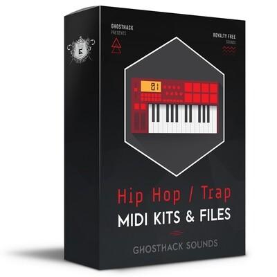 Hip Hop / Trap MIDI Kits & Files - Royalty Free Samples