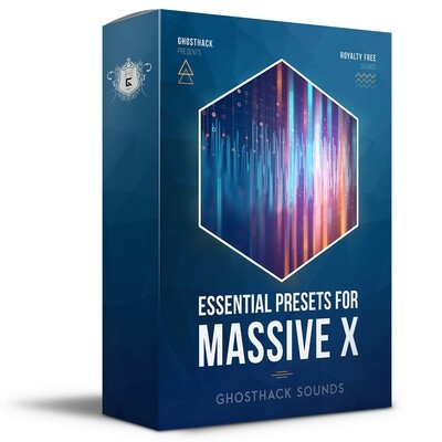 Essential Presets for Massive X - Royalty Free Samples
