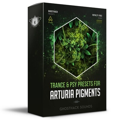 Trance & Psy Presets for Pigments - Royalty Free Samples