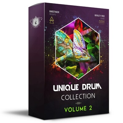 Unique Drum Collection Volume 2 - Royalty Free Samples