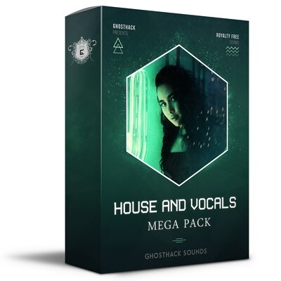 House and Vocals Mega Pack - Royalty Free Samples