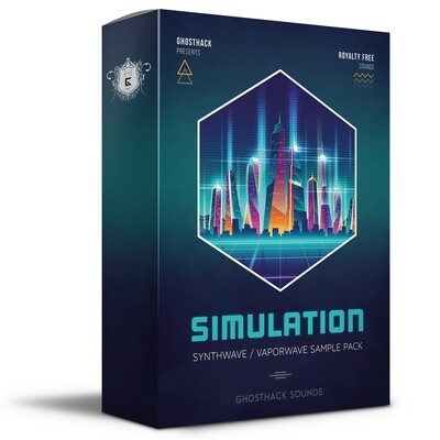 Simulation - Sounds for Synthwave and Vaporwave - Royalty Free Samples