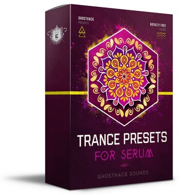 Trance Presets for Serum - Royalty Free Samples