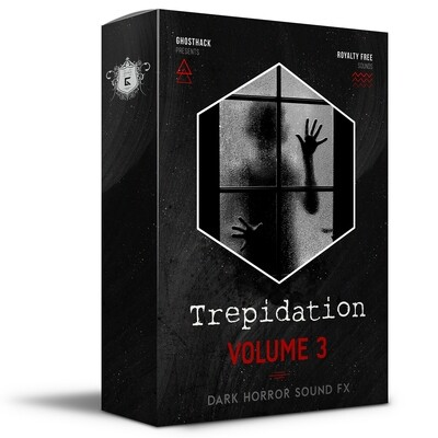 Trepidation - Dark Horror FX Volume 3 - Royalty Free Samples