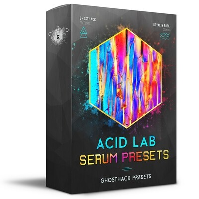 Acid Lab - Serum Presets - Royalty Free Samples