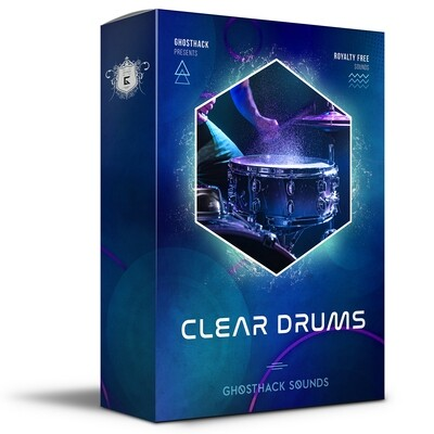 Clear Drums - Royalty Free Samples
