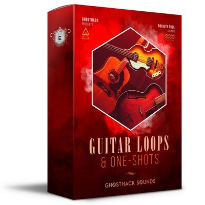 Guitar Loops & One-Shots - Royalty Free Samples