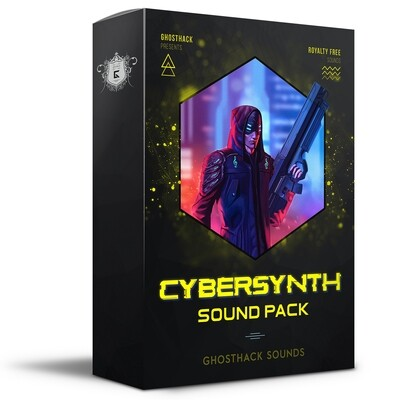 Cybersynth Sound Pack - Royalty Free Samples