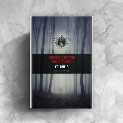 Cinematic Horror Music Tracks Volume 2 - Royalty Free Samples