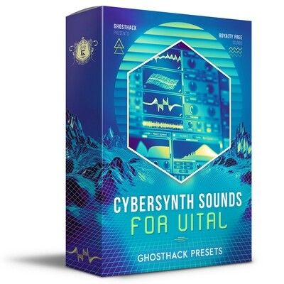 Cybersynth Sounds for Vital - Royalty Free Samples