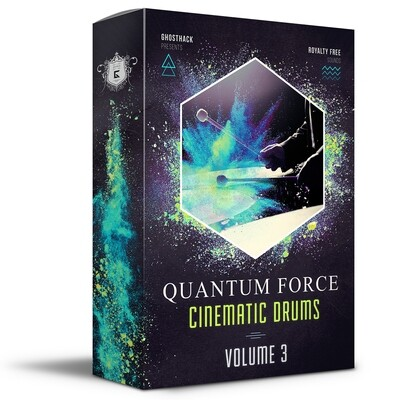 Quantum Force - Cinematic Drums Volume 3 - Royalty Free Samples