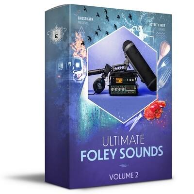 Ultimate Foley Sounds Volume 2 - Royalty Free Samples