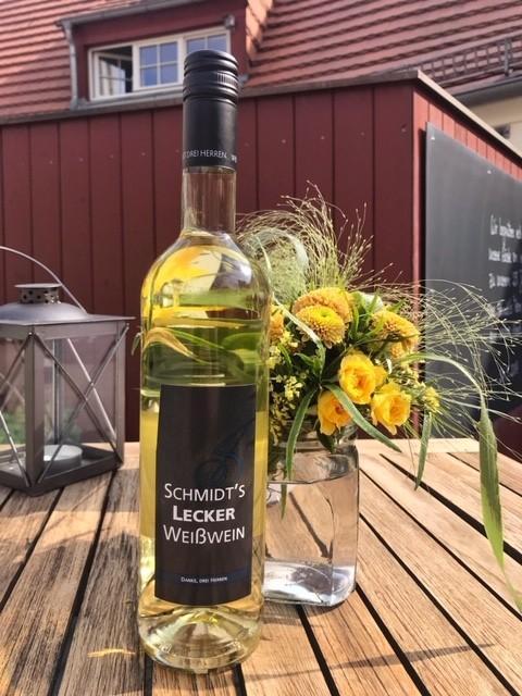Schmidt's lecker Weißwein - Weingut DREI HERREN