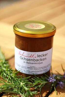 """""""SONNTAGSBRATEN"""": Schmidt's lecker Ochsenbacken in Balsamicojus (zur Abholung, täglich verfügbar)"""