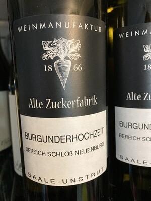 Burgunderhochzeit, Weinmanufaktur Alte Zuckerfabrik, Saale-Unstrut