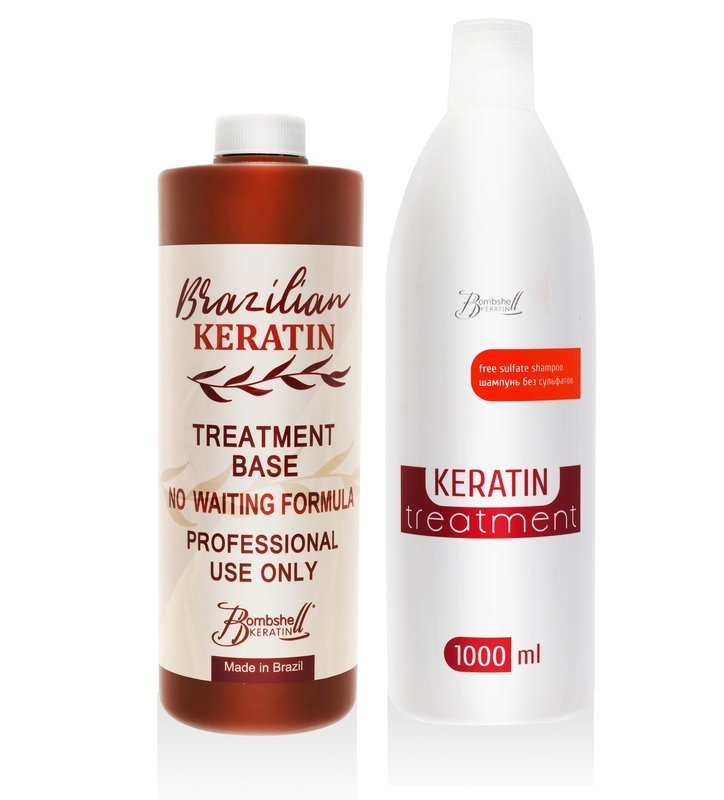 Набор для кератинового выпрямления волос