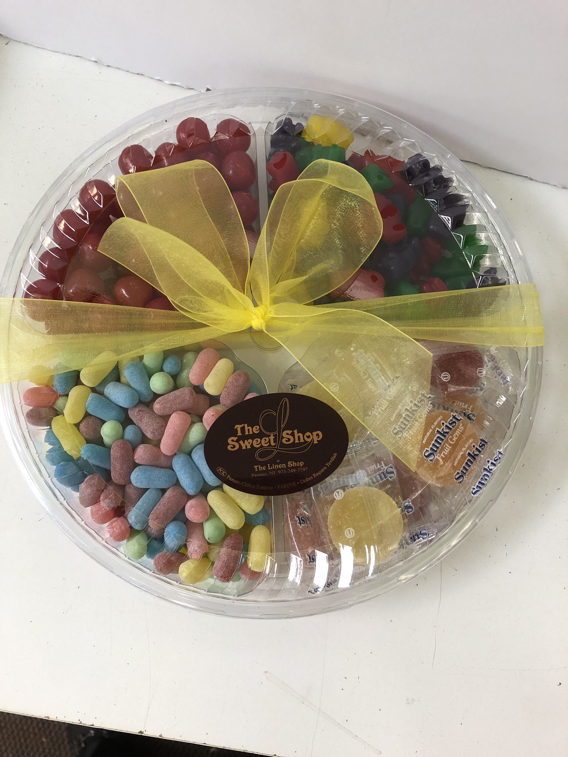 Large 4 sectional candy