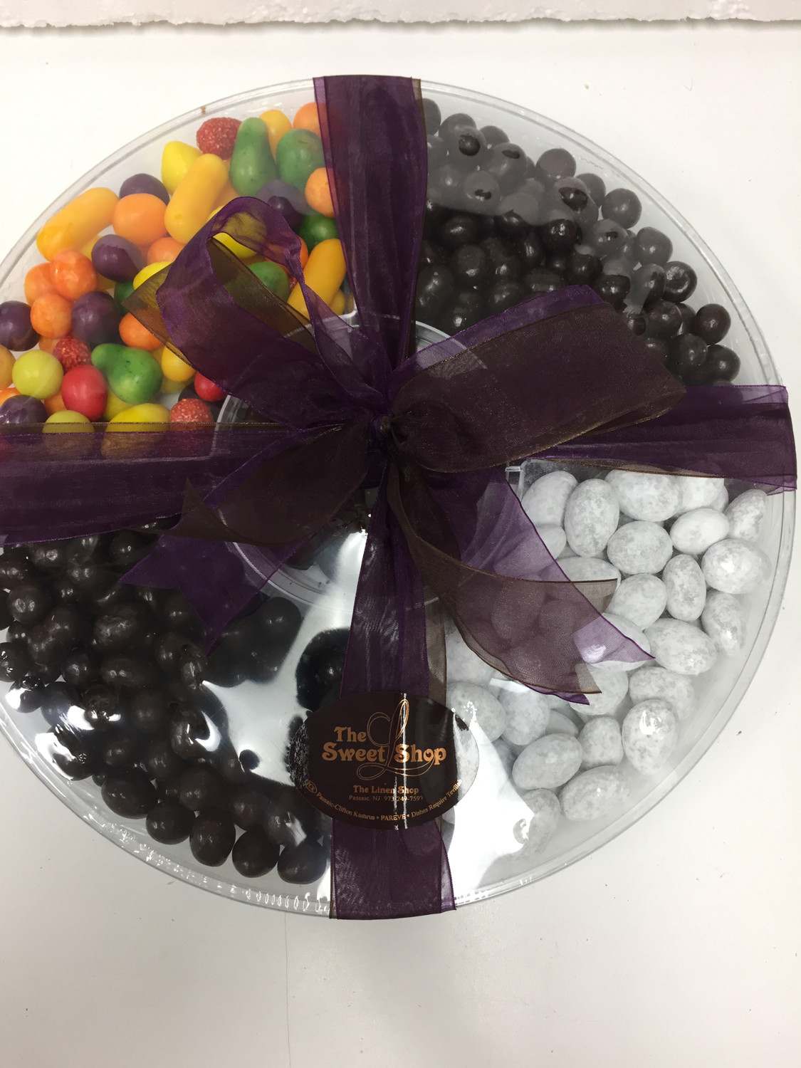 5 sectional Nut & Candy Platter