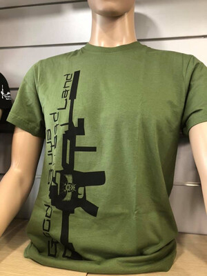 MILITARY GREEN OLIVE T-SHIRT
