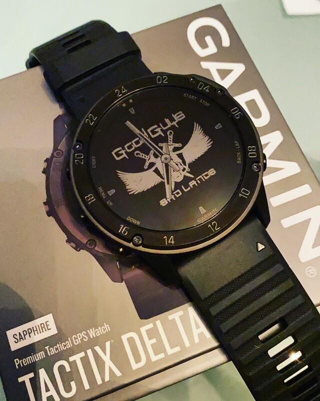 GARMIN TACTIX® DELTA | Good Guys in Bad Lands EDITION