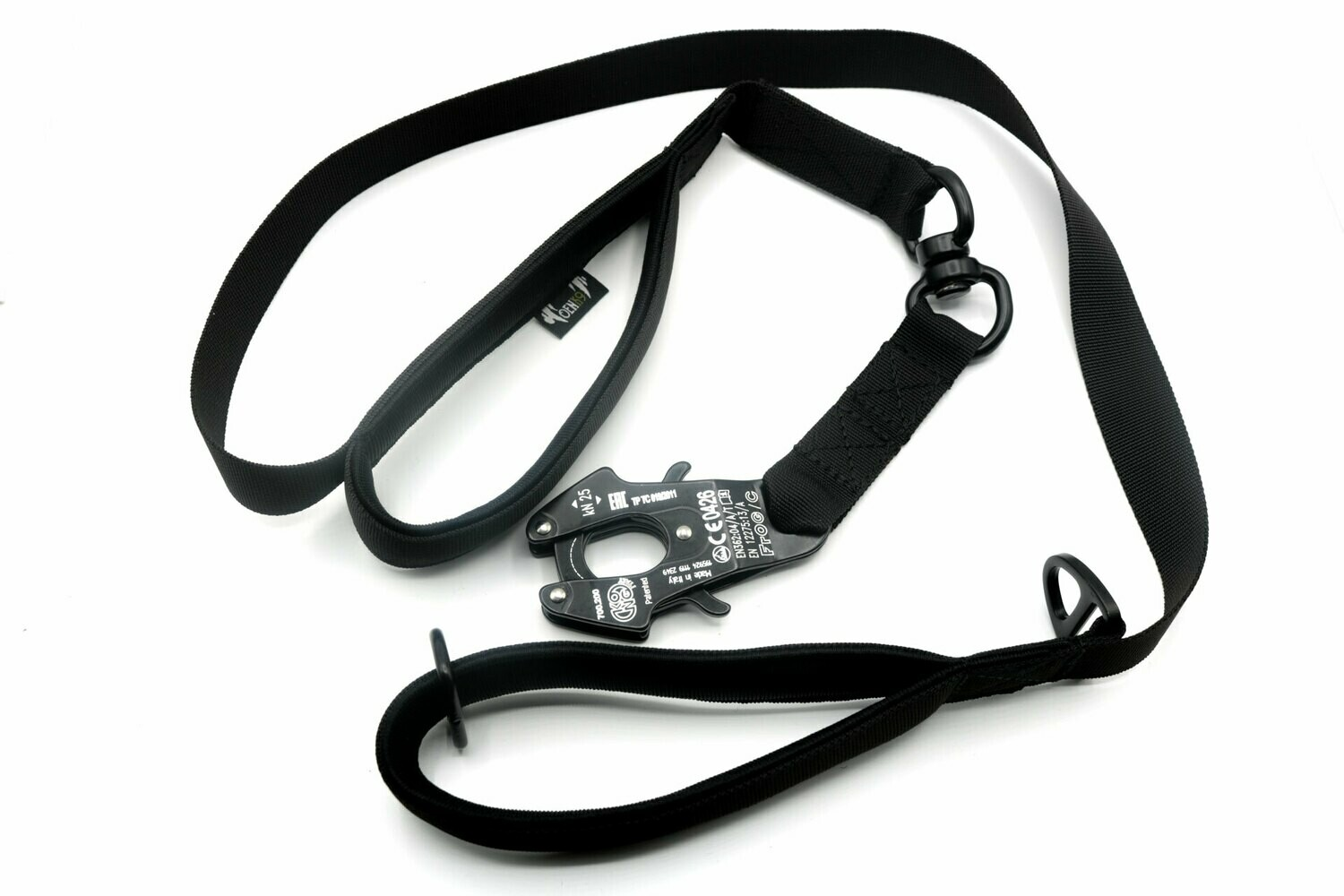 INTERVENTION TACTICAL LEASH, SECURITY FROG CARABINER