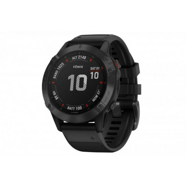 Fēnix® 6S Pro - Black with Black Band