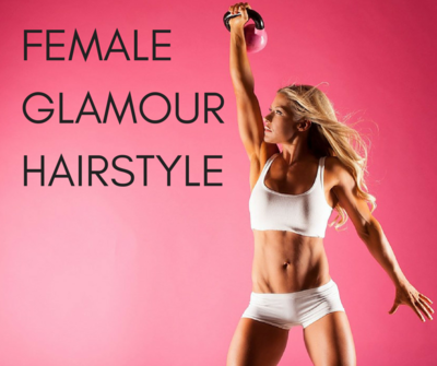 MAXIM ASMY Glamour Hair Style