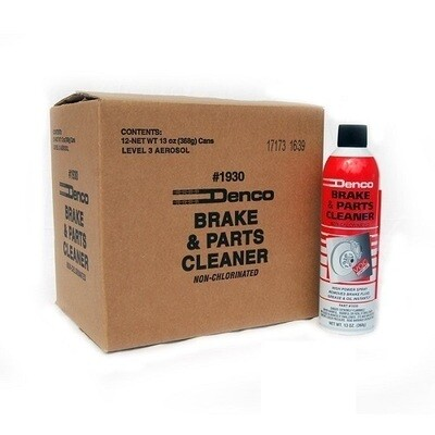 #1930 Denco Brake Cleaner Non-Chlorinated - 13 OZ Cans 12 Pack PROMO PRICE