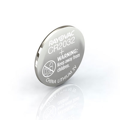 #CR2032 Lithium Coin Cell Battery Rayovac