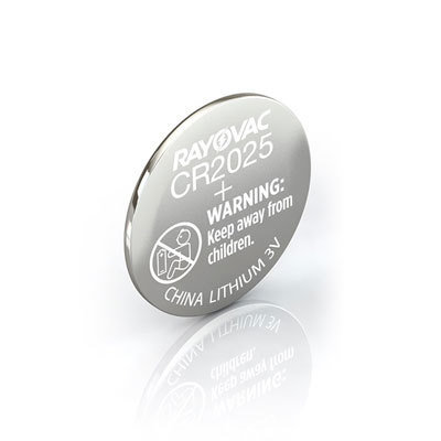 #CR2025 Lithium Coin Cell Battery Rayovac
