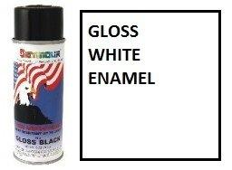 #10-2 Seymour Great American Gloss White Enamel 10OZ