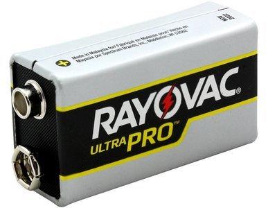 #9V Rayovac 9V Batteries 6 Pack